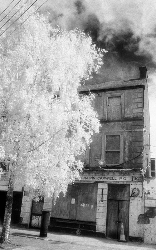 The Old Capwell Post Office (extended Infrared)
